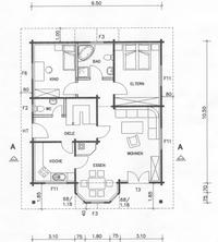 Variantenhaus - Grundriss EG