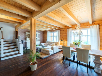 Fullwood - Holzhaus Provence - Wohnen