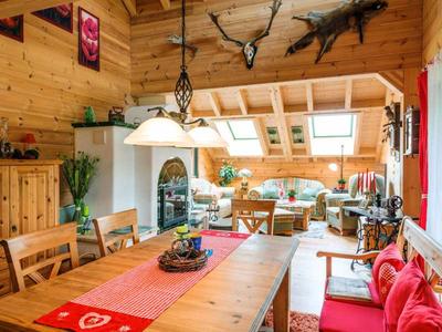 Fullwood Holzhaus Fränkische Kiefer - Wohn- und Eßbereich