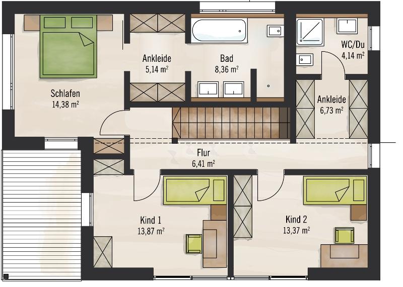 Best Baufritz Haus Bauhaus Grundriss With Fertighaus Grundriss