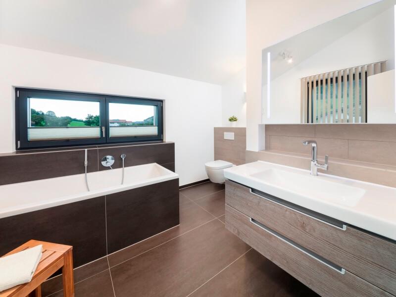 klassisches fertighaus von baufritz haus einfamilienhaus. Black Bedroom Furniture Sets. Home Design Ideas