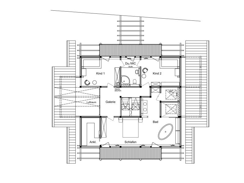 Holzskelettbauweise grundriss  Fertighaus von DAVINCI HAUS - Haus am Genfer See