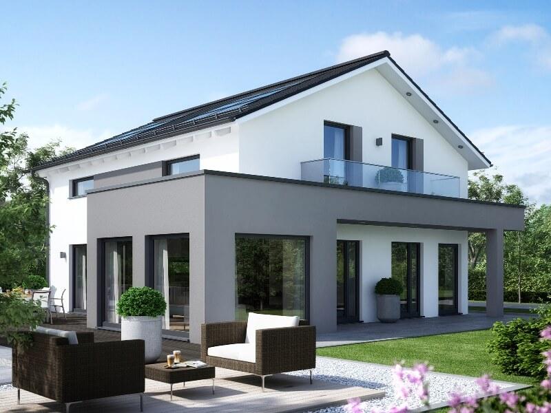 fertighaus von living haus sunshine 165 ulm. Black Bedroom Furniture Sets. Home Design Ideas