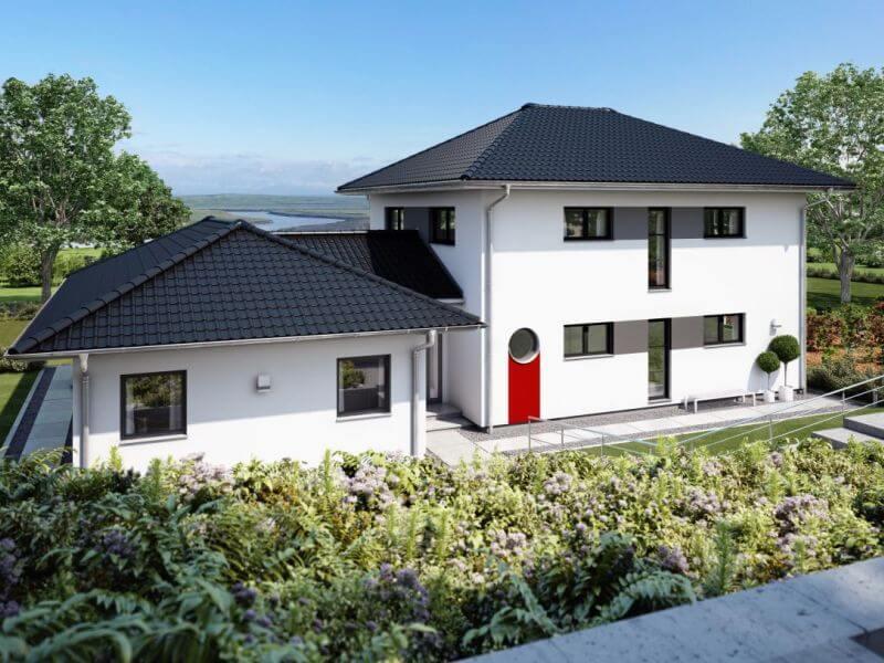 modernes fertighaus von rensch haus gmbh haus atlanta. Black Bedroom Furniture Sets. Home Design Ideas