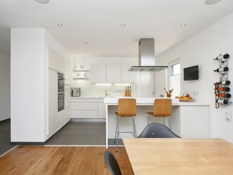 modernes kundenhaus von rensch haus gmbh kundenhaus frankfurt. Black Bedroom Furniture Sets. Home Design Ideas