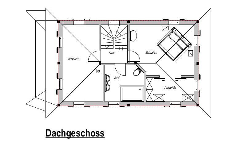 fertighaus von v ma bio bau haus florenz. Black Bedroom Furniture Sets. Home Design Ideas