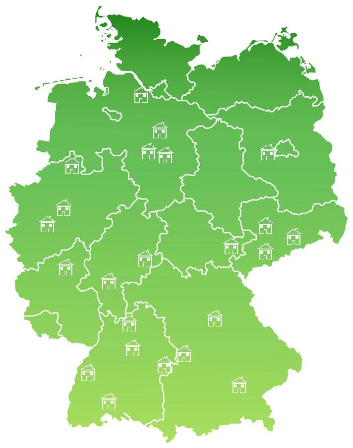 Karte Musterhausparks