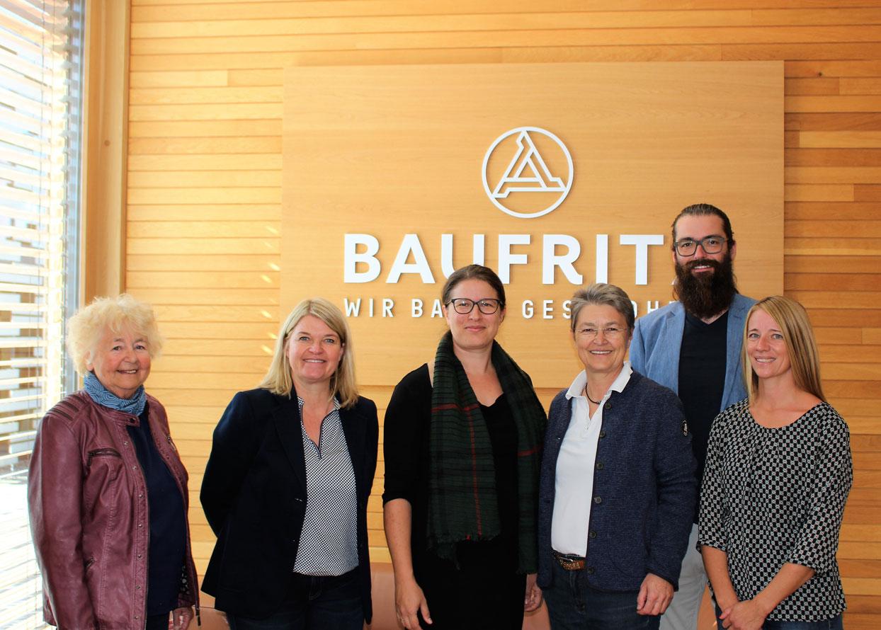 Baufritz - Grüner Besuch in Erkheim