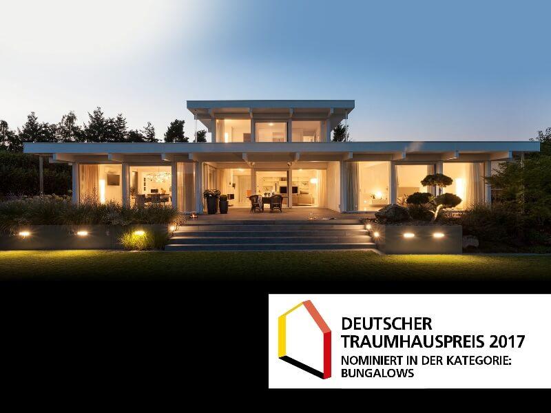 Deutscher Traumhauspreis 2017 - Nominierung Davinci Haus