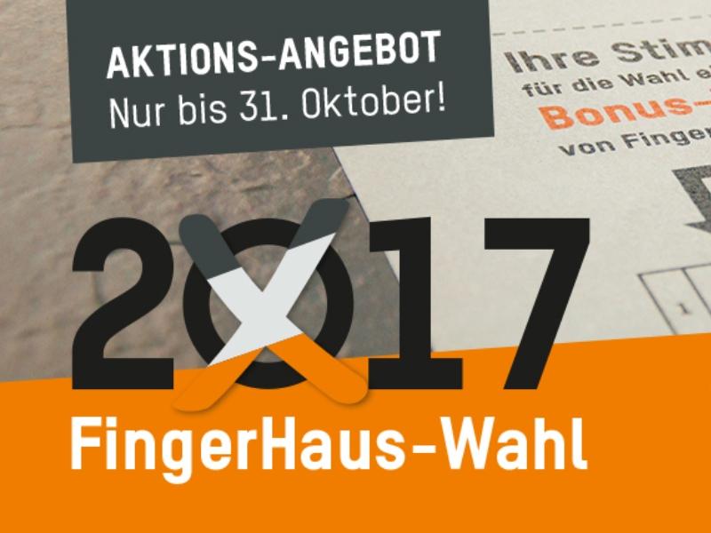 FingerHaus-Wahl 2017