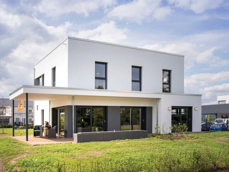 fingerhaus stellt neues hauskonzept maxim erstmals als musterhaus vor fertighaus. Black Bedroom Furniture Sets. Home Design Ideas