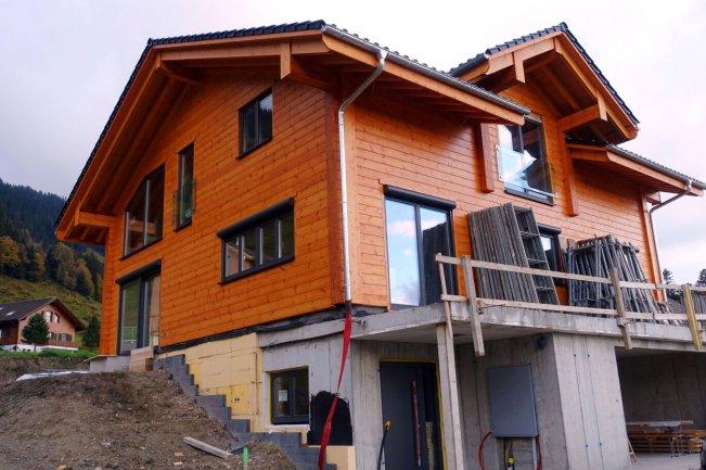 Fullwood Blockhaus bei Bern im November 2016