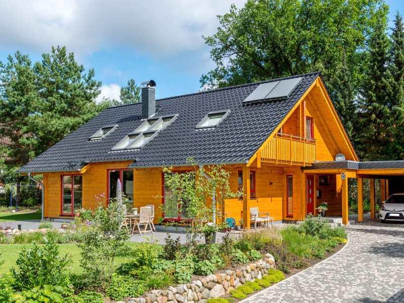 Fullwood Holzhaus Lüneburg - Aussenansicht