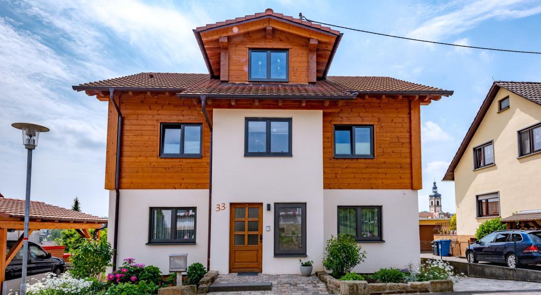 Fullwood Wohnblockhaus - Holzhaus im Katzbachtal