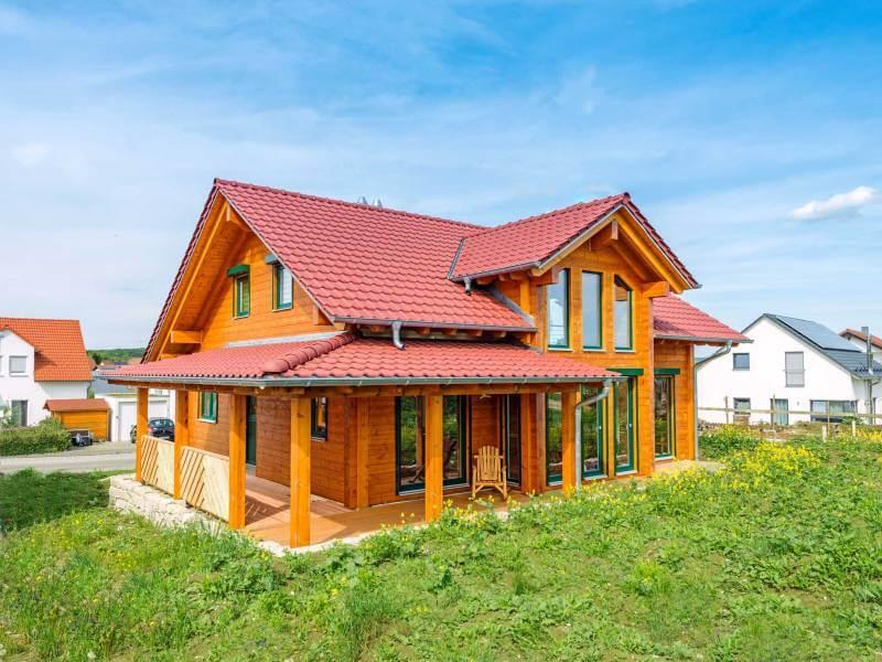 Fullwood Holzhaus unter Hohen Neuffen