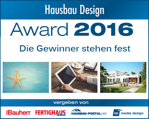 Gewinner des hausbau design awards 2016 fertighaus for Milano design award 2016