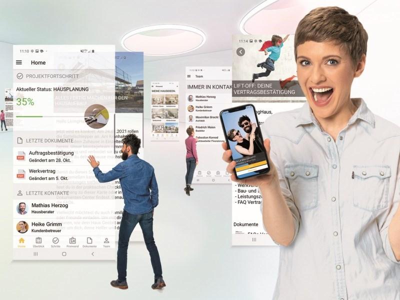 Living Haus baut seinen digitalen Vorsprung im Jahr 2020 weiter aus