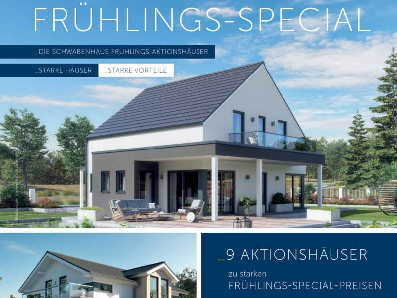 Schwabenhaus Frühlings-Special Aktionshäuser SOLITAIRE